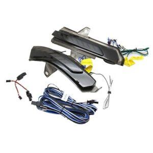 Rear-view Mirror Lights for Cadillac XT4 18+ XT5 15+ XT6 , Streamer Yellow + DRL
