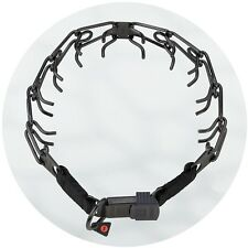Herm Sprenger Black Stainless Steel ClicLock Buckle Prong Collar Micro 2.25mm