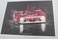 ga37 - Stampa-Alfa Romeo 33 TT 12- Campione Mondiale Marche 1975 Campari