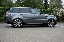 Lombartho 22 Zoll Alufelgen Sommerräder BMW X5 X6 Range Rover Sport LS LM 130