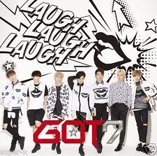 GOT7 Japan 3rd Single [LAUGH LAUGH LAUGH] Type B (CD+DVD) Limited Edition