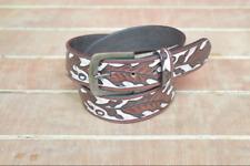 ceinture Sheridan, Ceinture en cuir sculpté fabriquer à la main