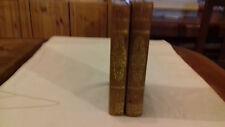 LUCRECE traduction DE LA GRANGE 2 volumes 170x105 , 1821 ( col 1d)