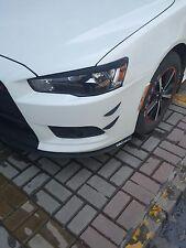 Carbon Fiber style Car Bumper Body Edge Corner Strips set for Mitsubish Lancer