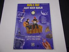 *    EASY ROCK BANJO JUST FOR FUN  SONGBOOK-easy banjo tab