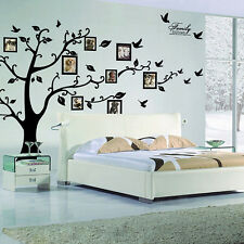 Photo Frame Family Tree Removable Wall Decal Sticker Kid room home Nursery decor