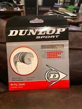 New Multifilament Dunlop Dport M-fil Tour Synthetic TENNIS string 16 gauge 40'
