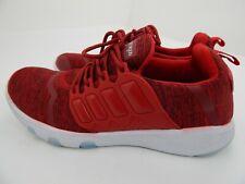 Azooken Mens Size 9 Sports Footwear Tennis Jogging Lightweight Shoes Red Stripes