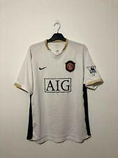 RONALDO Manchester United 2006/08 Large Away 06/08 06/07 Football shirt L