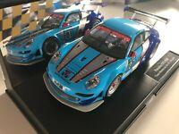 Frontspoiler und Heckdiffusor für Carrera Digital 124 Porsche GT3 RSR XL-Set