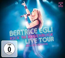 BEATRICE EGLI - KICK IM AUGENBLICK: LIVE TOUR (DELUXE EDITION )  2 CD+DVD NEU