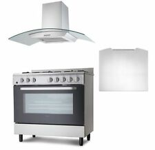 Dual Fuel Stainless Steel Home Cookers with Burner