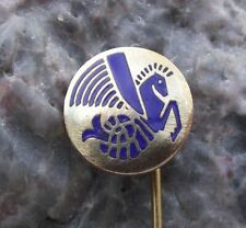 Antique Air France French Airlines Hippocampe Winged Sea Horse Logo Pin Badge