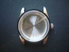 UNBRANDED VINTAGE STYLE 36MM STEEL EXPLORER SMOOTH BEZEL WATCH CASE FIT ETA 2836
