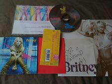 BRITNEY SPEARS / britney /JAPAN LTD CD OBI & POSTER