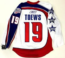 JONATHAN TOEWS AUTHENTIC RBK EDGE 2009 NHL ALL STAR JERSEY 46 CHICAGO BLACKHAWKS