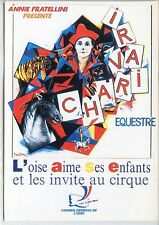 CP - Carte Postale - Cirque - Charivari equestre - Annie Fratellini - Oise