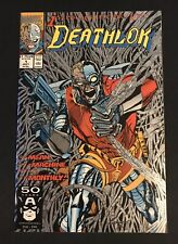 Deathlok #1(1991 Comic book) Silver Ink Cover 1st. Collectors Issue NM+