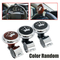 Car Truck Rotary Steering Wheel Aid Power Handle Assister Spinner Knob Ball