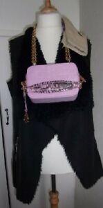 "Amanda Wakeley ""Rose"" Drop Strap Howard Crossbody Monogram Bag"