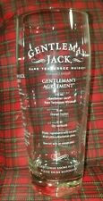 Jack Daniel's Gentleman Jack Tennessee Whiskey Measuring Tumbler Glass, Recipes