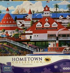 Hometown Collection Hotel Del Coronado 1000 Piece Jigsaw Puzzle
