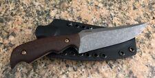 """LANDAU Knives Camp Knife  9.25"""" W/ 4.1"""" NitroV Blade Rc 61 W/ C4 Kydex Sheath"""