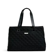 Vera Bradley Triple Compartment Travel Bag in Classic Black