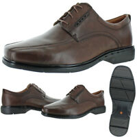 Unstructured by Clarks Men's Un.Kenneth Leather Dress Oxford Shoes