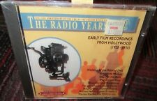 NEW THE RADIO YEARS - EARLY FILM RECORDINGS FROM HOLLYWOOD 1928-1936 AUDIO CD