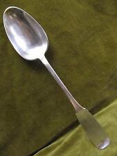 Cuillere à ragout argent XVIIIème (french silver serving spoon ) L 29,7cm 128gr