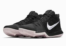 71045124e4ff Nike Kyrie 3 Mens Basketball Shoes 10.5 Black White Silt Red