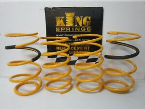 Lowered Front & Rear KING Springs to suit Ford Laser KN KQ Models