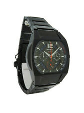 Breil Milano BW0173 Men's Black & Olive Analog Chronograph Date Watch