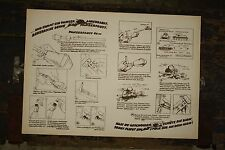 WW2 German Panzerfaust instruction sheet Original Wehmacht T34 Tank Panzerschrek