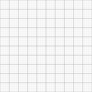 8 x GRID / GRAPH PAPER A1 size Metric 1mm 5mm 50mm squares premium paper