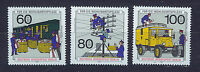 ALEMANIA BERLIN GERMANY 1990 MNH SC.9NB283/85 Post and telecommunications