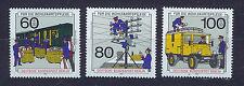 ALEMANIA BERLIN GERMANY 1990 MNH SC.9NB283/85 Post and telecommunications