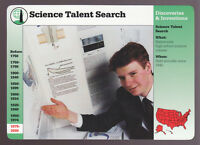 PARKER CONRAD 1998 Science Talent Search GROLIER STORY OF AMERICA CARD