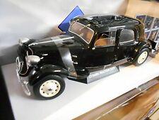 """CITROEN Traction 11CV """" Gangsterauto """" black schwarz 1937 Solido RAR 1:18"""