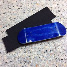 Steep Hill FB,New 34mm Wooden Blue Fingerboard Deck, 2 Grip Tape,2 Stickers