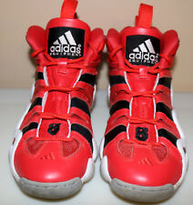 the best attitude 51d70 68170 Adidas Crazy 8 Red Black White Basketball Sneakers Mens Size 7
