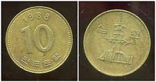 COREE DU SUD  10 won  1988