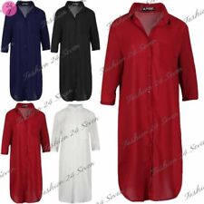 Polyester 3/4 Sleeve Dresses for Women with Pockets