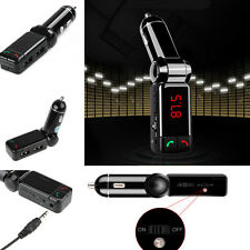 Dual USB Car Charger Wireless Bluetooth Handsfree PhoneMP3 Player FM Transmitter