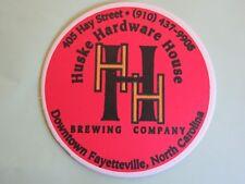 Beer Coaster <> HUSKE HARDWARE HOUSE Brewing Co ~*~ Fayetteville, NORTH CAROLINA