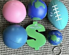 Exercise Therapy~(2) of each~firm,medium,soft~Squeezable Stress Relievers~new