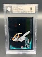 2010 Topps Update Wal-Mart Black Border Mike Stanton US50 BGS 9 MINT RC