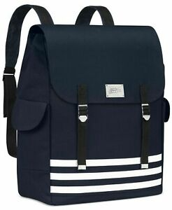 NEW Jean Paul Gaultier Le Male Navy Blue Masculine Travel Backpack Rucksack