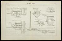 1888 - Bassins de clarification des eaux d'égout - Southampton